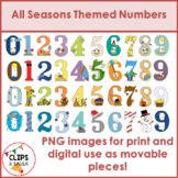 All Seasons Themed Numbers Bundle