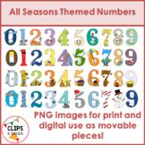 All Seasons Themed Numbers Bundle