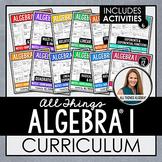 Algebra 1 Curriculum:  All Things Algebra
