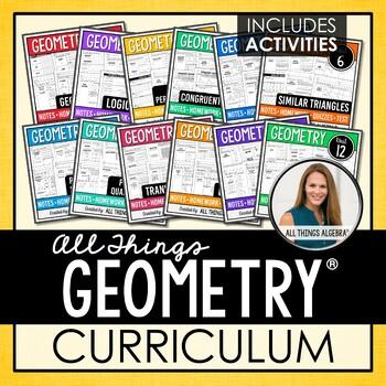 Geometry Curriculum:  All Things Algebra