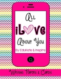All iLove About You {Valentine's Day Writing Papers, Cards