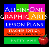 All-in-One Graphic Arts Lesson Plans ~ Complete Curriculm
