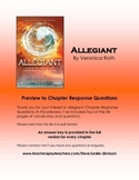 Allegiant Chapter Response Questions