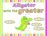 Alligreater the Alligator - Greater, Less than and Equal k