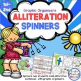 Alliteration Alive 2! - Spin-a-Sentence Activity-Teach Kid