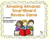 Almanac Review SmartBoard Game - Editable Questions