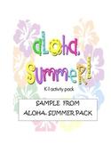 Aloha, Summer!  sample