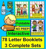 Alphabet Booklets NO PREP! 78 Books BUNDLE Value - Interac