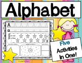 Alphabet! Trace It, Write It, Color It, Highlight It, Draw