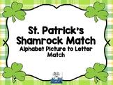 Alphabet Clip It Cards {St. Patrick's Day}