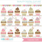 FREE Clipart - Cupcake Cafe