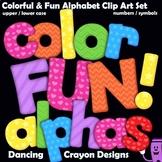 Alphabet Letters: Color FUN! Alphabet Clip Art