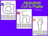 Alphabet Cut & Paste-Lowercase