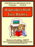 Alphabet Half Size Guided Reading Books