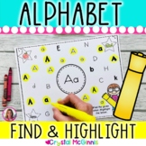Alphabet Hunt! Alphabet Recognition Activity for All 26 Letters