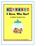 Alphabet I Have Who Has