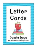 Alphabet Letter Cards  * free download *