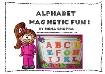 Alphabet Magnetic Sheets