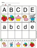 Alphabet Matching Cut and Paste