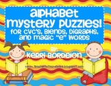 Alphabet Mystery Puzzles!  Literacy Centers