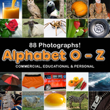 Photo / Photograph Alphabet: O - Z 88 photos, Commercial U