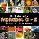 Photo / Photograph Alphabet: O - Z 88 photos, Commercial U