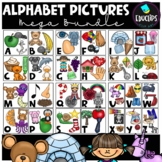Alphabet Pictures Clip Art Mega Bundle