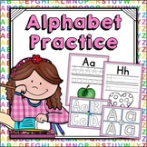 Alphabet Practice - Handwriting Worksheets & Playdoh Mats