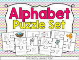 Alphabet Puzzles (Color and Black/White Option)