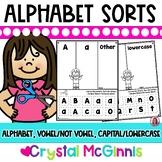 Alphabet Sort Letter Recognition Activities-30 Printables