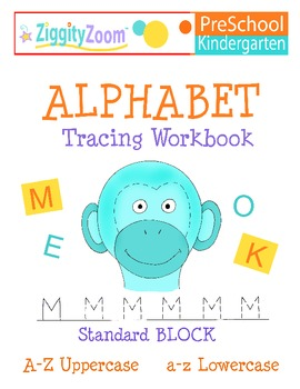 Alphabet Tracing Uppercase and Lowercase