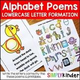 Alphabet Poems