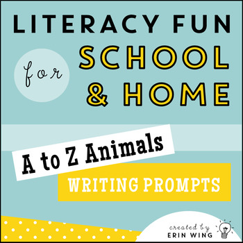 Alphabet Writing: Quick Prompts From A to Z