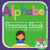 Alphabet printing book Kindergarten