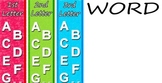 Alphabetical Order Center Word Sorts