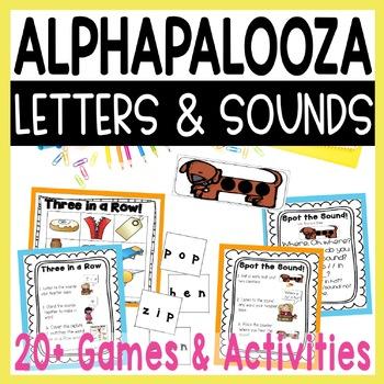 Alphapalooza 2  Phonemic Awareness & Phonics Fun