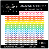 Amazing Accents FREEBIE #1 {Graphics for Commercial Use}