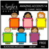 FREE Amazing Accents #14 {Graphics for Commercial Use}