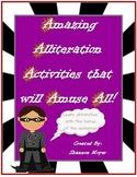 Amazing Alliteration Activities