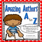 Amazing Authors A to Z Reading Challenge {FREE}
