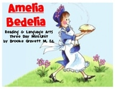 Amelia Bedelia Reading & Language Arts Mini Unit