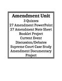 Amendment Bundled Unit