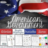 American Government Activities and Worksheets