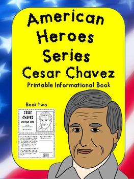 American Heroes Series-Book Two- Cesar Chavez