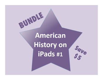 American History on iPads Bundle #1 (Common Core Aligned!)