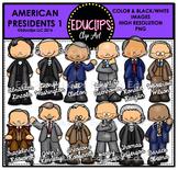 American Presidents Clip Art Bundle