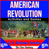 American Revolution, 4th, 5th and 6th Grades! ~American Hi