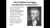 US History Unit 1.1 - American Revolution PowerPoints