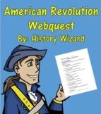 American Revolution Webquest and Teacher Answer Sheet