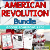 American Revolutionary War Bundle - Causes, People, Events